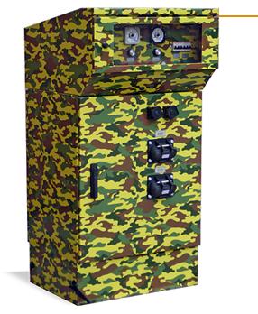 Колонка ASK – R28/300 с дополнительной функцией – встроенный источник постоянного питания 28 В с током до 300 А
