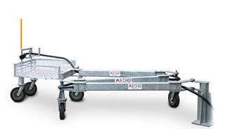 «Zig-Zag» — аэродромное передвижное устройство для хранения и транспортировки кабеля